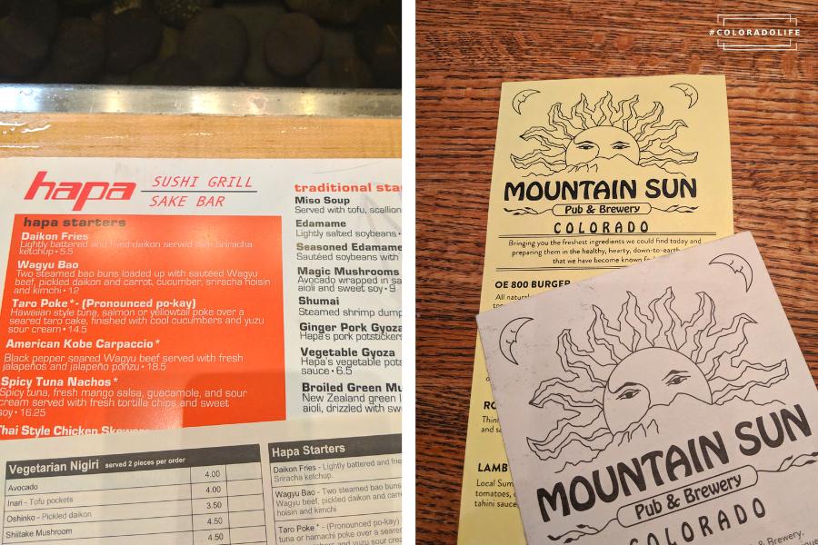 hapa sushi mountain sun boulder