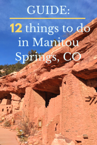 things to do manitou springs