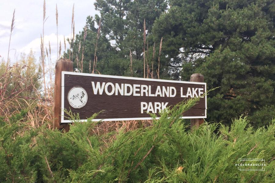 wonderland lake park boulder