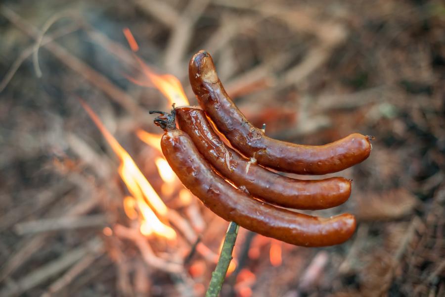 Campfire sausage recipe