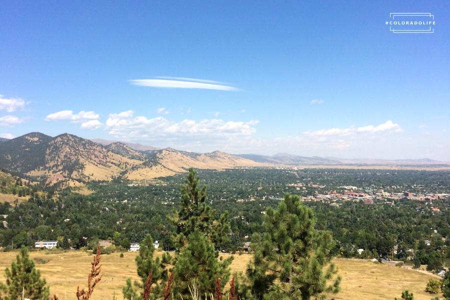 Front Range Boulder Colorado