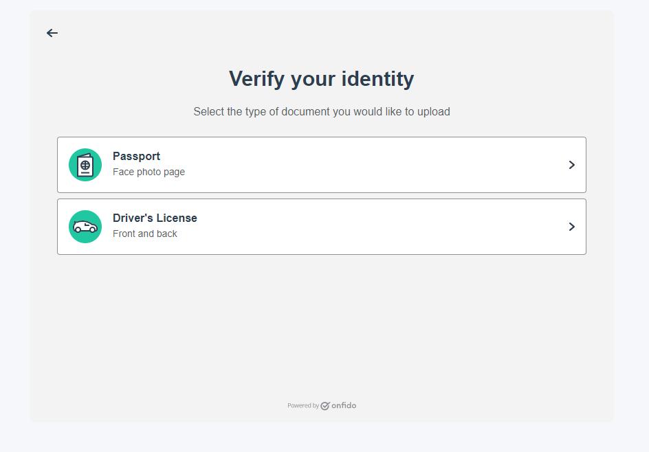 RVshare verify identity
