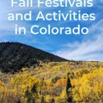 fall activities in colorado