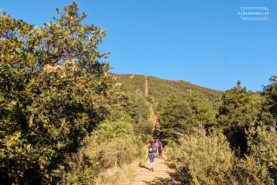 manitou incline trail