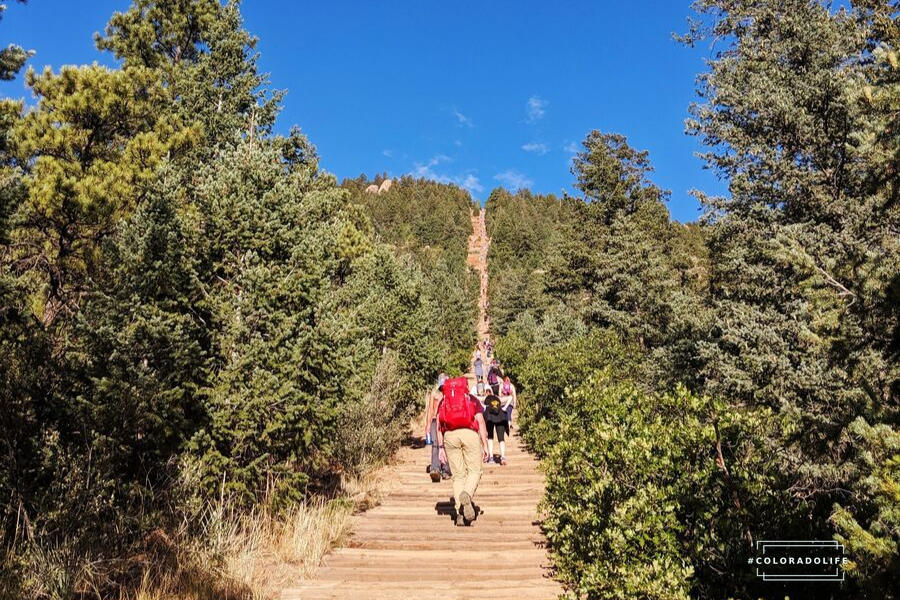 the manitou incline hike