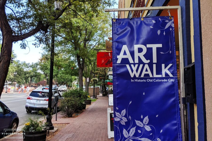 art walk colorado city