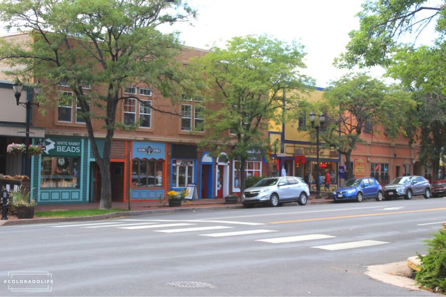 old colorado city downtown