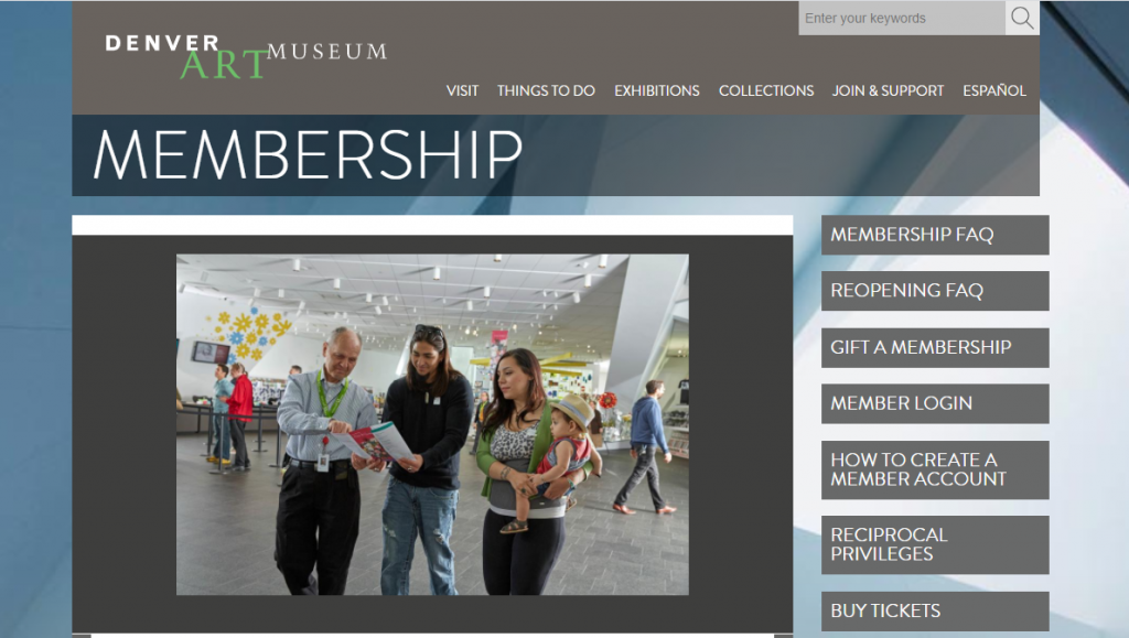 denver art museum website