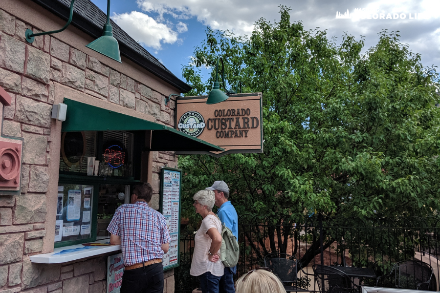 colorado custard company in manitou