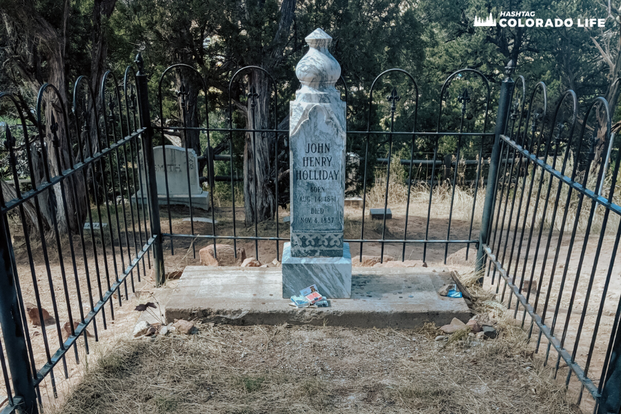 doc holliday grave and tombstone