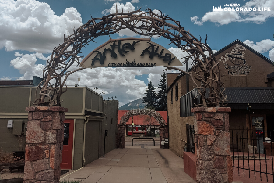 antler alley in woodland park colorado