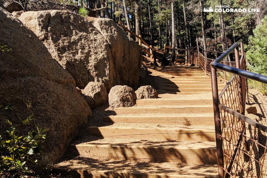 helen hunt falls trail steps