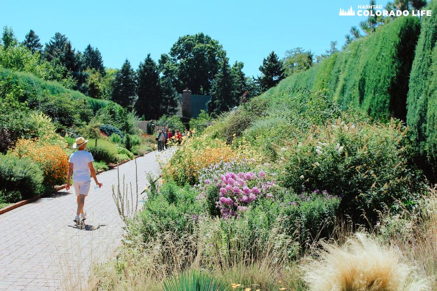 denver botanic gardens paths