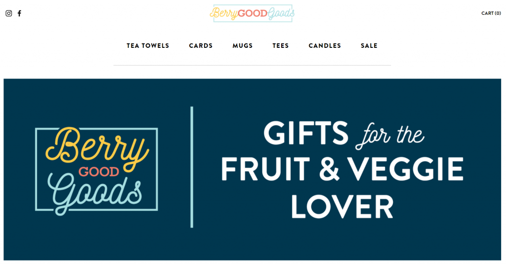 berry good goods website gifts