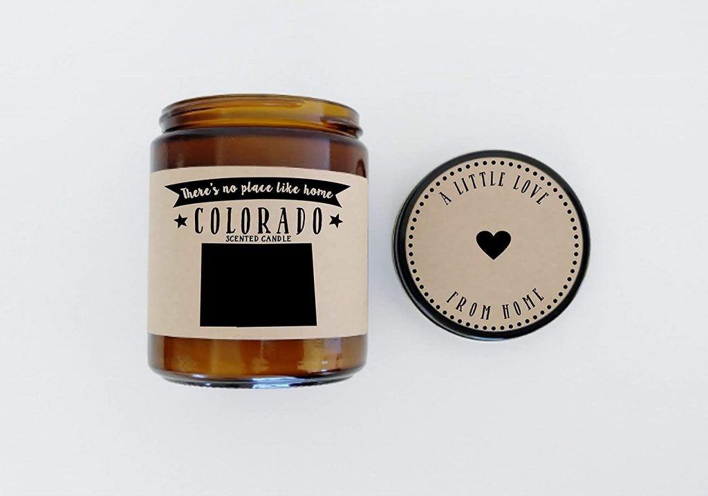 colorado state candle gift