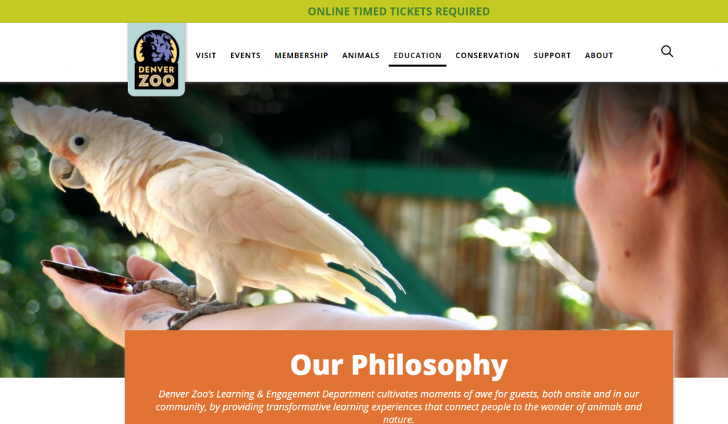 denver zoo website