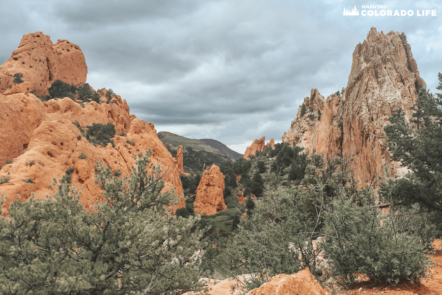 hiking at garden of the gods colorado