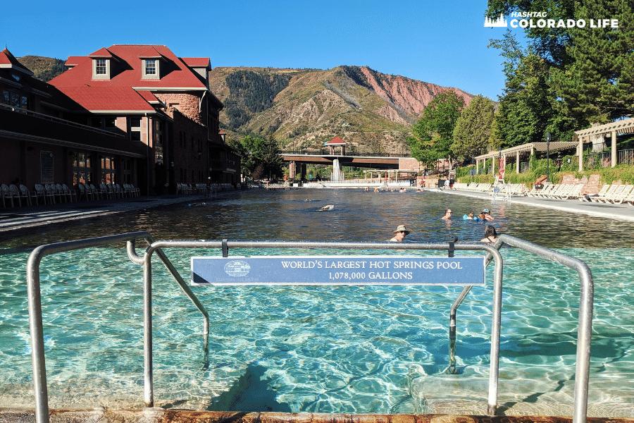 glenwood hot springs natural pool
