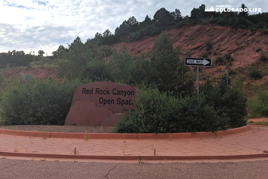 how to get to red rock canyon open space