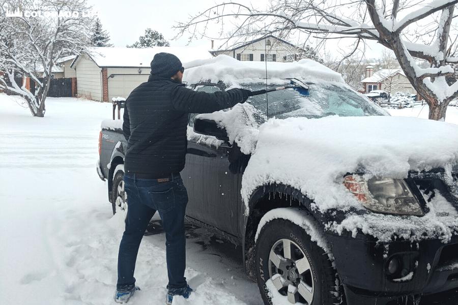 ice scraper for winter cars