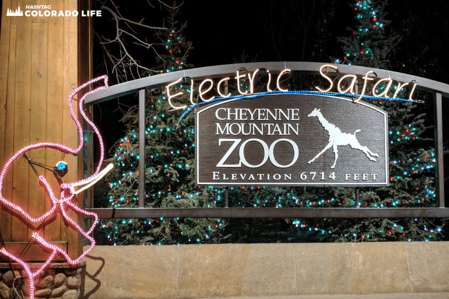 cheyenne mountain zoo - electric safari