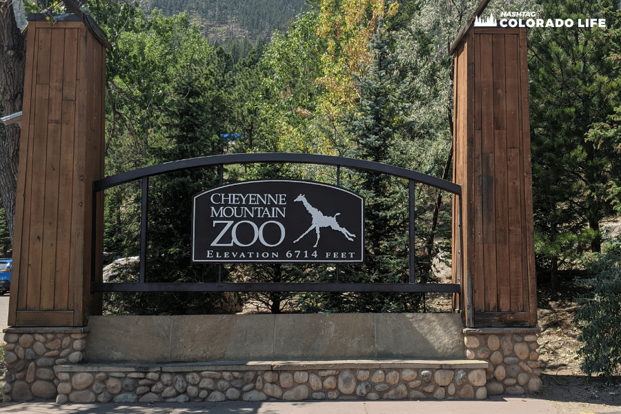 cheyenne mountain zoo elevation