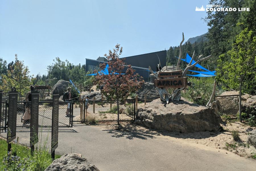 cheyenne mountain zoo waters edge africa