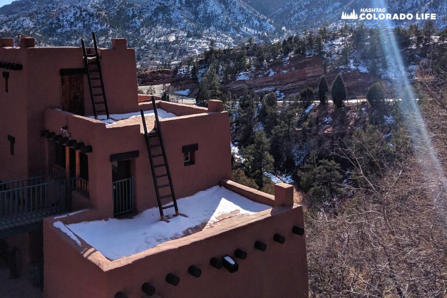 cliff dwellings pueblo style