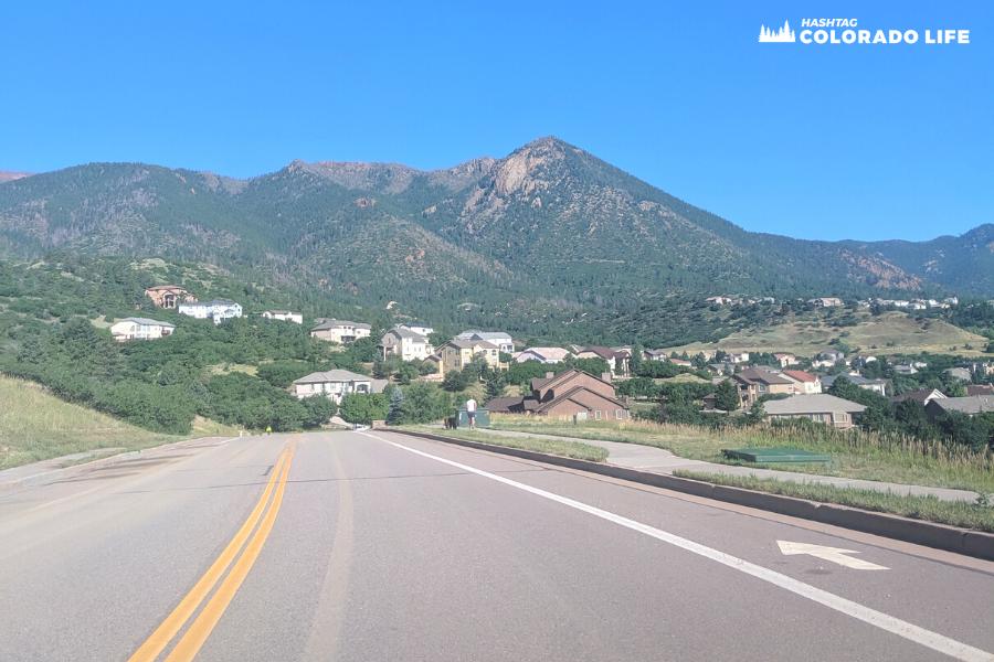 where is blodgett peak in colorado