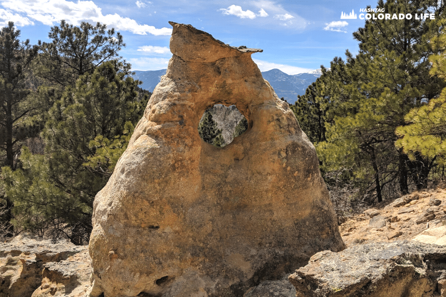 austin bluffs geological formations