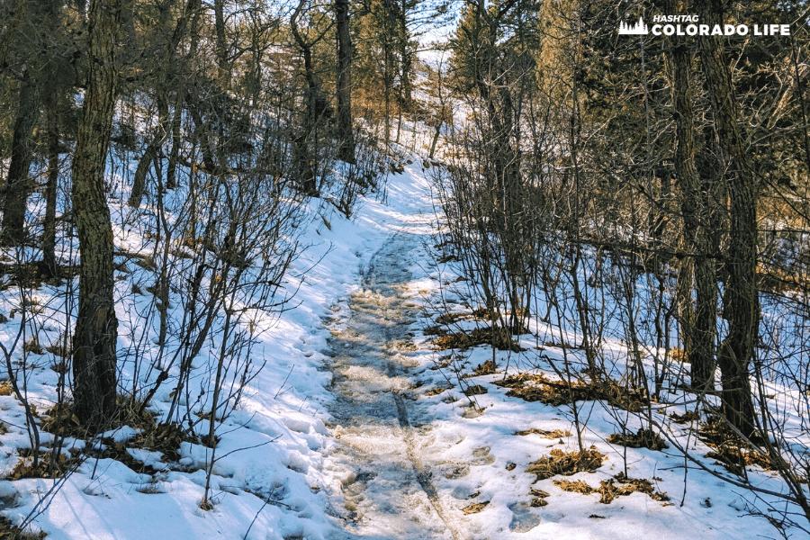 austin bluffs snowy hiking tips