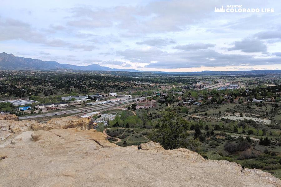 hiking pulpit rock colorado springs