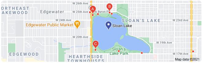 sloans lake parking lots