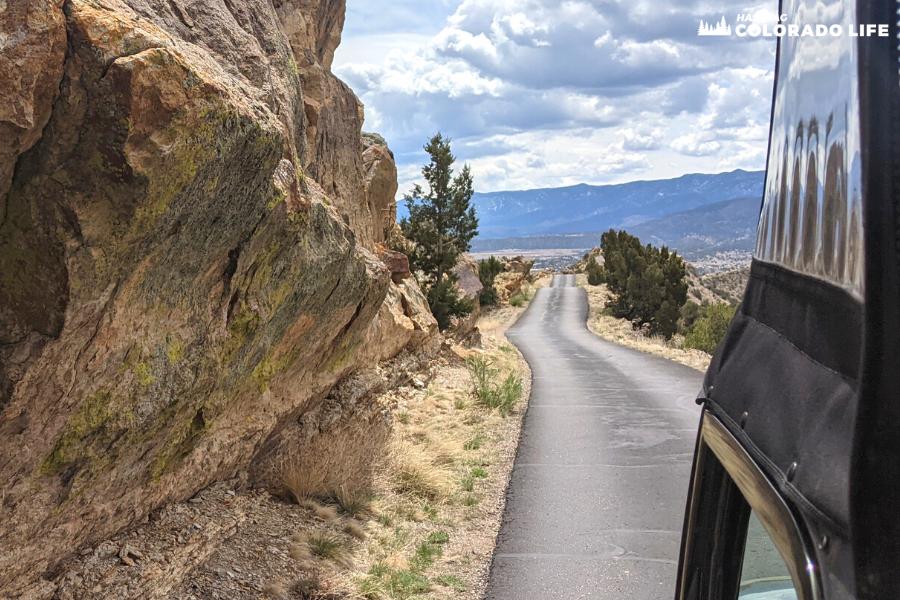 skyline drive colorado views