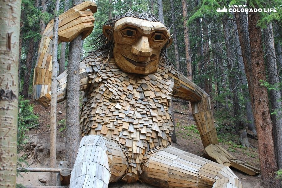 Where is the Breckenridge Troll? How to Find the Trollstigen Trail
