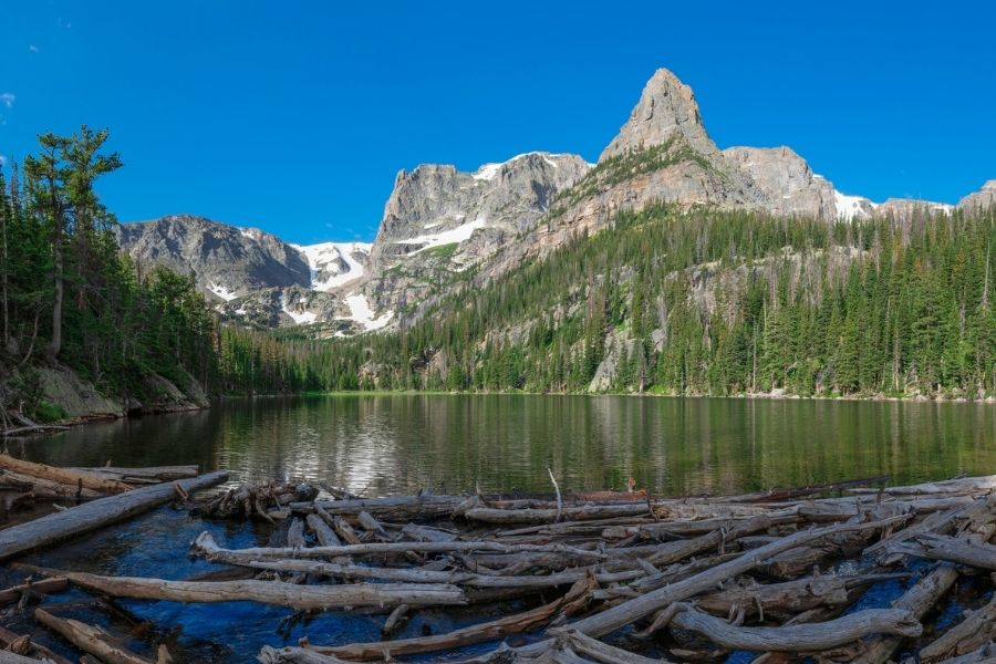 fern lake trail rocky mountain national park