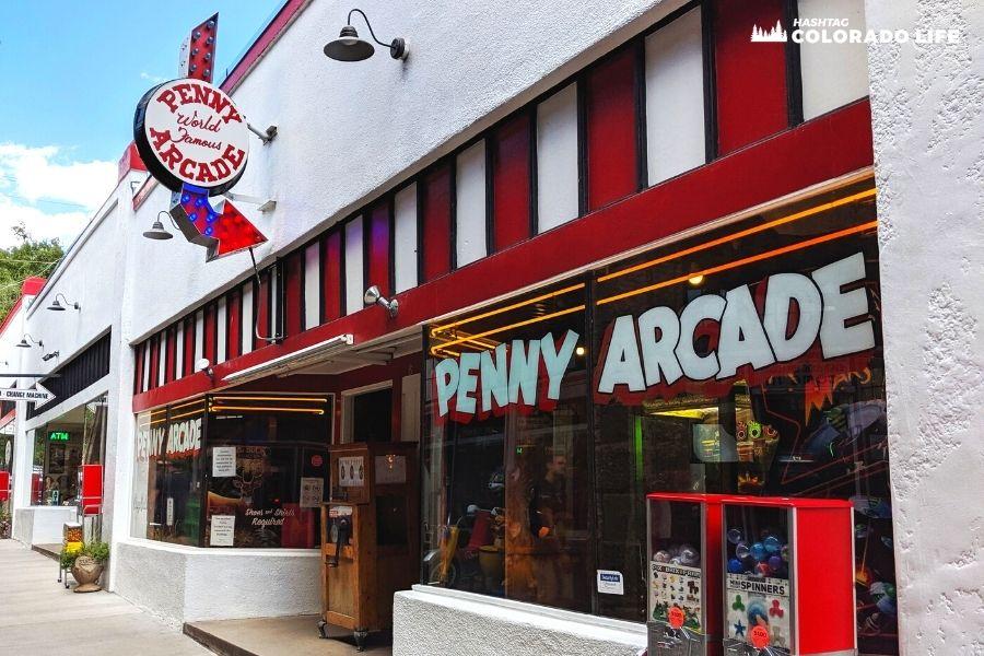 Penny Arcade in Manitou Springs: Vintage Games & Amusement